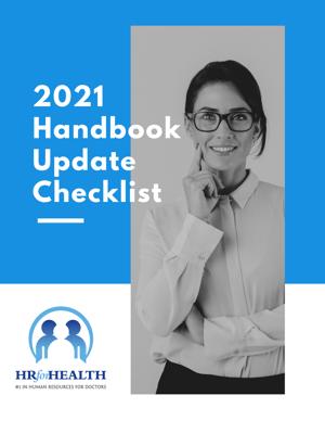 2021 HB Update Checklist