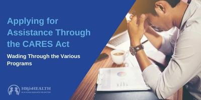 CARES Act Apply Info Blog