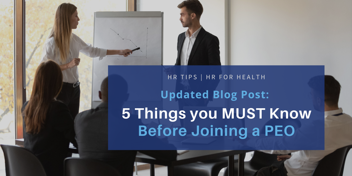 5 Things you MUST Know Before Joining a PEO