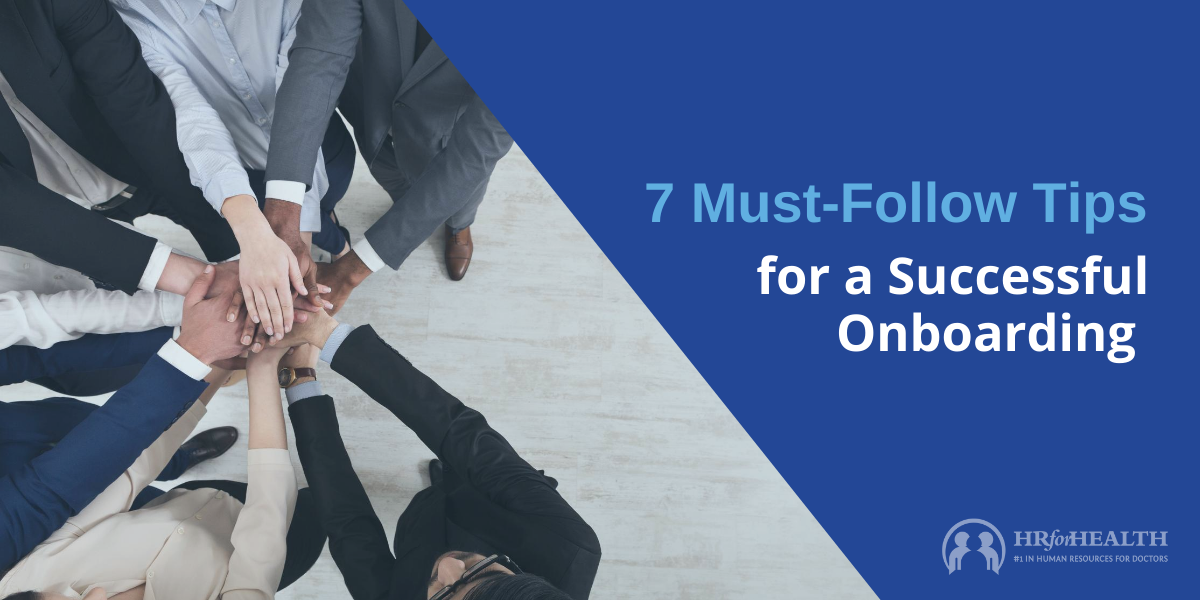 7 Tips for a Successful Onboarding