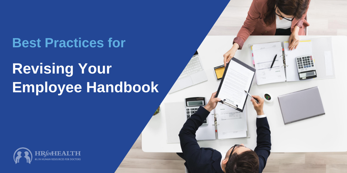 Revise Employee Handbook