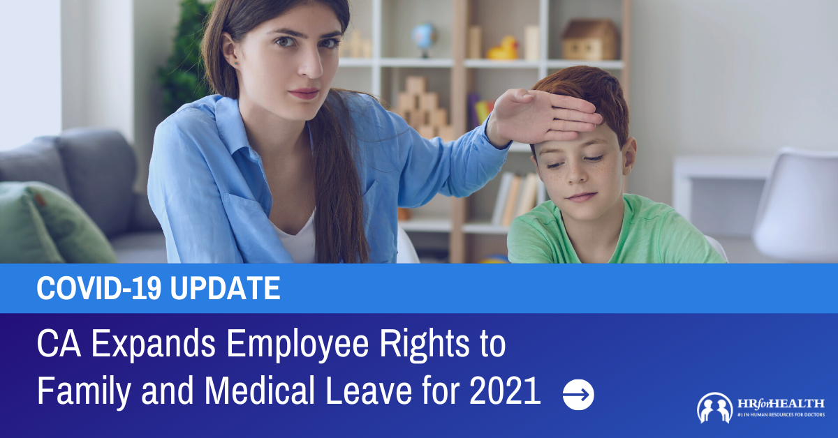 California Expands Employee Rights to Family and Medical Leave