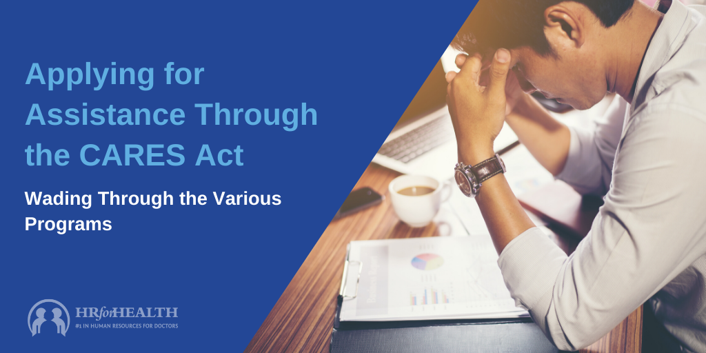 Applying for Assistance through CARES Act