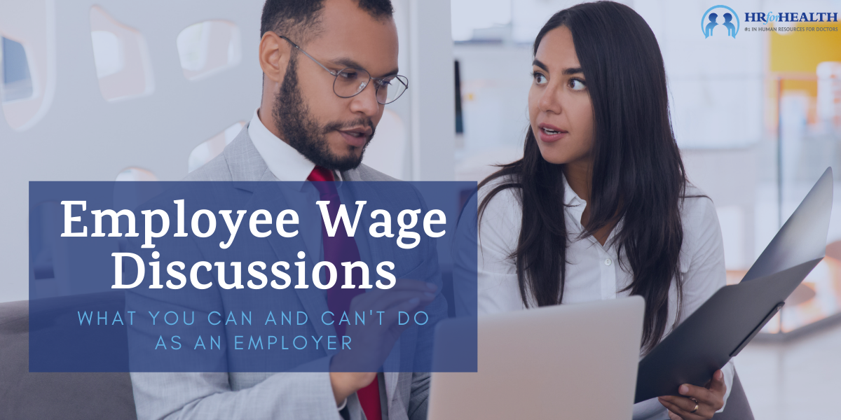Employee Wage Discussions
