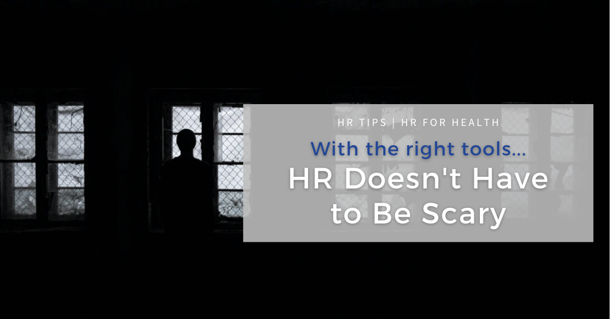 HR Doesn't Have to Be Scary
