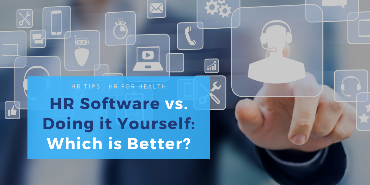 HR software vs. doing it yourself