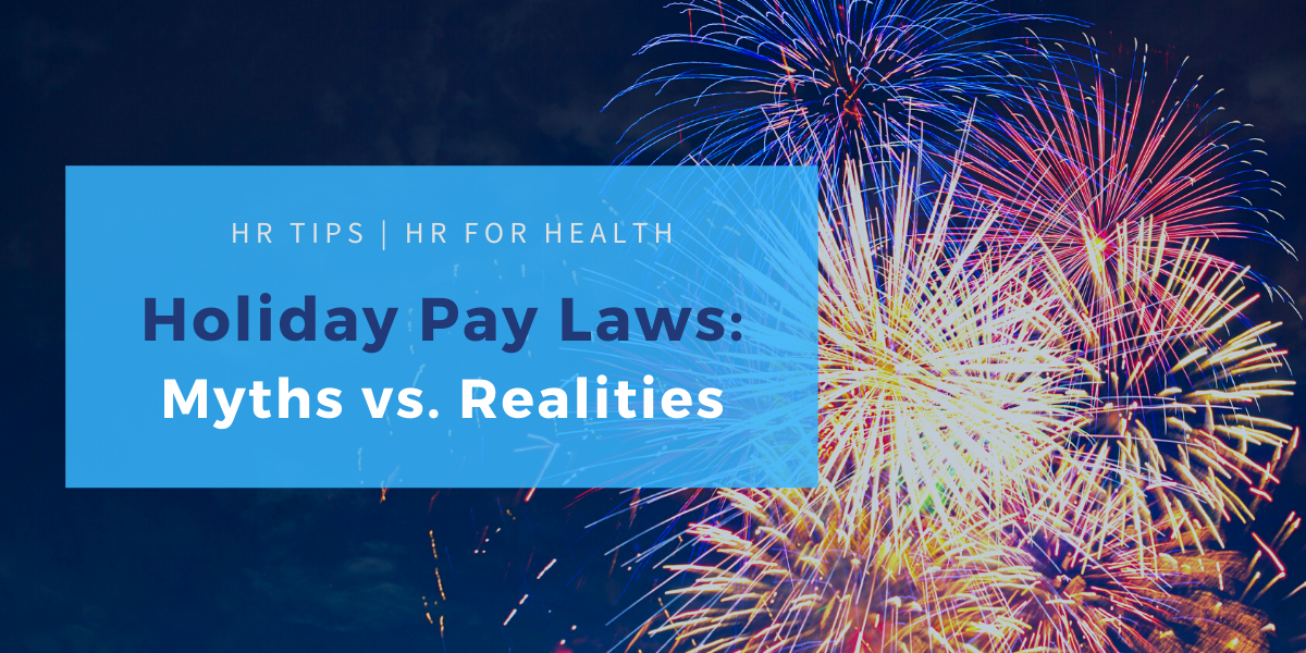Holiday Pay Laws