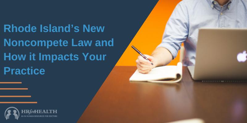 Rhode Island's noncompete law