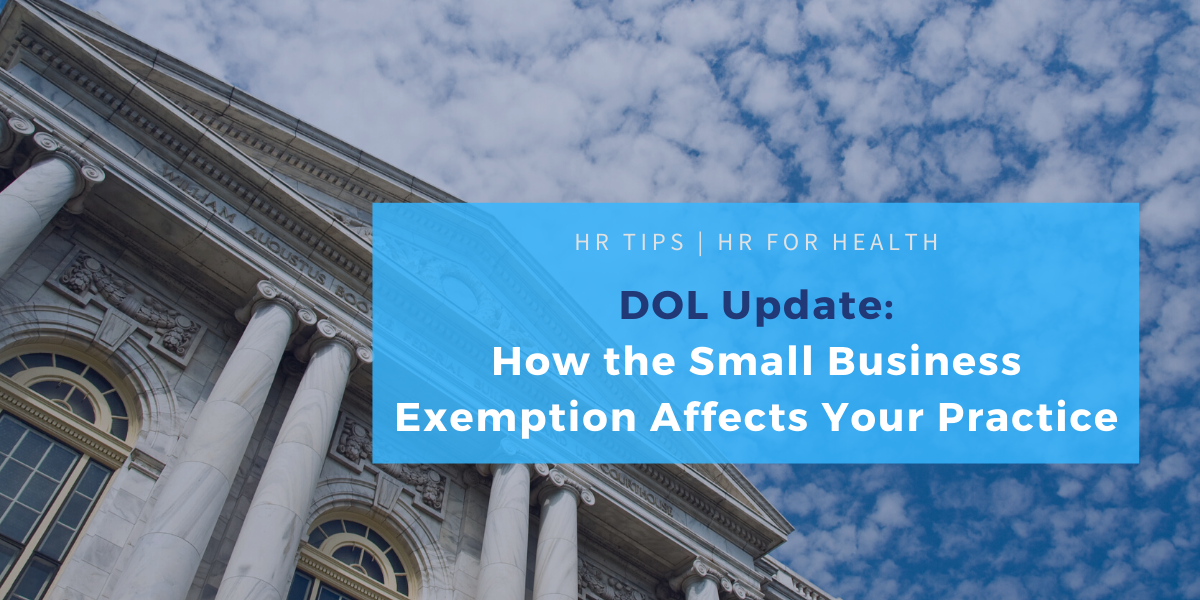 Small business exemption